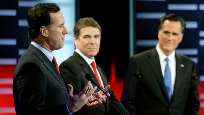 Sparks Fly at GOP Facebook Debate