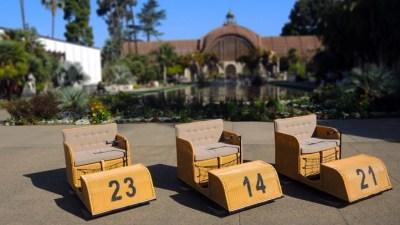 San Diego Vintage: Balboa Park Electriquettes
