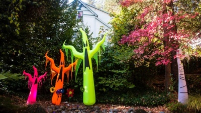 Nevada City's Colorfully Haunting October