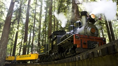 Easter Egg Hunt at Roaring Camp Railroads