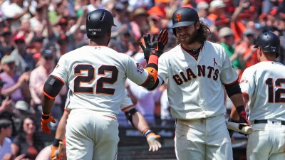 Giants Complete Sweep of Phillies, Run Win Streak to 4