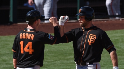 Giants Finish Victorious in Game Against San Diego Padres