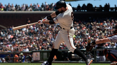 Five-run First Inning From D'backs Ends Giants' Four-game Win Streak