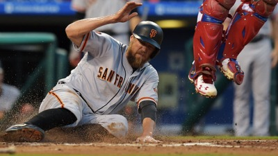 Giants Jump Out to Lead Then Lose to Phillies in 12