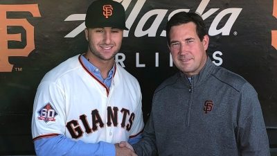 Joey Bart Named No. 1 Prospect in Giants' System, Cracks Top 50 in MLB