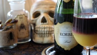 Korbel's Halloween Happy Hour