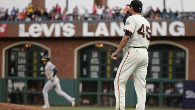 A's Rookie Pitcher Dominates in Win Over Giants
