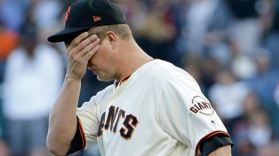 Listless Giants Roughed Up by Pirates in Series Opener