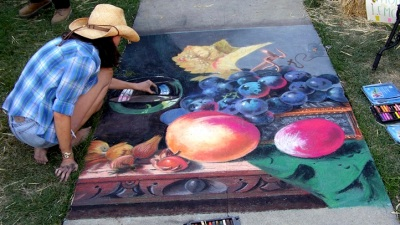 Napa Riverfront's First Chalk Festival