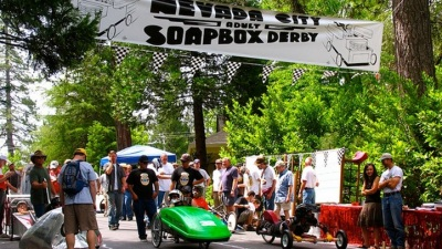 Quirky Cars: Nevada City Soapbox Derby