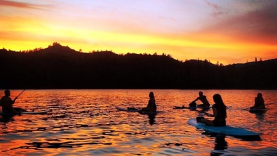 Moonlight Kayak at Whiskeytown Lake