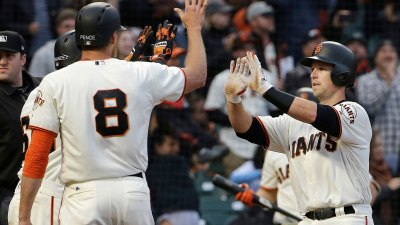 Blach, Posey Power Giants Past Cubs