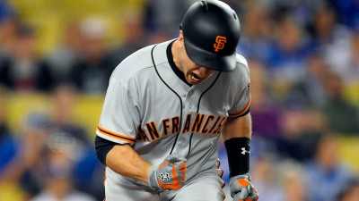 Giants Win Series Over Dodgers in Extra Innings
