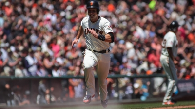 Watch Buster Posey Crush Clutch Grand Slam in Giants' Win Vs. Brewers