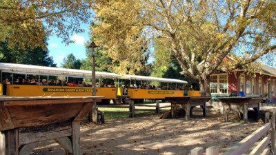 Roaring Camp's Ghost Train