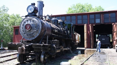 Riding a Vintage Train Through Gold Country
