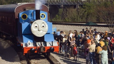Roaring Camp Welcomes Thomas the Tank Engine
