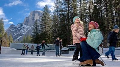 Yosemite Ice Skating: Epic Twirls
