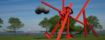 Huge Sculptures Dot Crissy Field
