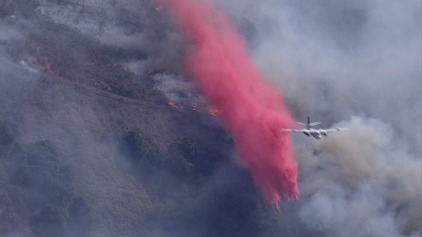 Crews Battling 50-Acre Brush Fire in Gilroy