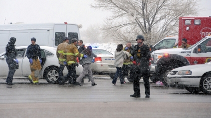 4 Officers Hurt in Colo. Shooting, Gunman Still Active