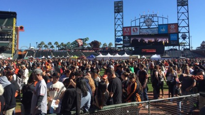 #SFGFest an Early V-Day Present for Giants Fans
