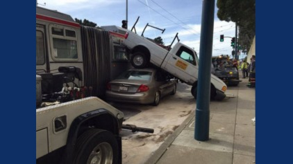 Muni Involved in Accident Near City College of San Francisco