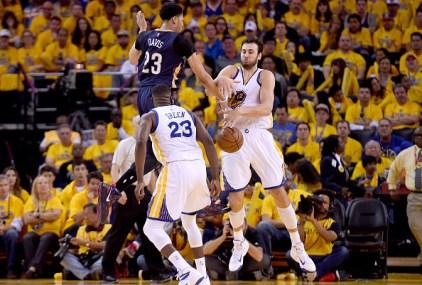 Warriors Beat Pelicans 106-99 in Game 1