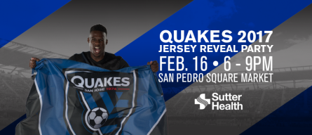 Quakes 2017 Jersey Reveal Party