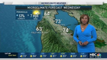 <p>It will be slightly warmer today with upper 80s inland. Meteorologist Kari Hall has details in the Microclimate Forecast.</p>