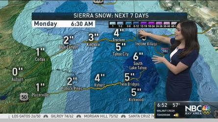 <p>NBC Bay Area Forecaster Vianey Arana has details in the Microclimate Forecast.</p>