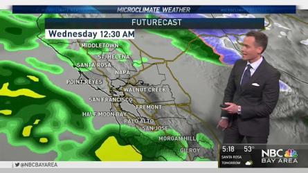 Bay Area Weather, Forecast, Maps and Doppler Radar | NBC Bay Area