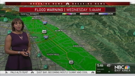 <p>Ongoing flooding along the Coyote Creek will lead to more evacuations and road closures.  Meteorologist Kari Hall has details in the Microclimate Forecast.</p>
