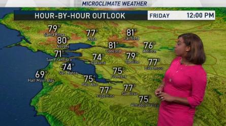 <p>Inland areas will reach the lower 90s through the weekend. Meteorologist Kari Hall has details in the Microclimate Forecast.</p>