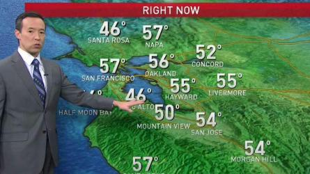 <p>Gusty northerly winds will keep humidity levels low especially in the hills and fire danger unusually high for this time of year through Sunday.  We should see less windy conditions later in the day, with temps mainly in the 60s Bay Area wide.  Lack of any significant rain for nearly 3 weeks has put us in a time machine back to October-like dryness for fuel moistures around the region.  So it becomes even more important now we look for some rain to help turn the calendar back to December type conditions again. Next best chance for rain looks to be Wednesday, though totals are looking fairly light (if any) and nowhere near what&rsquo;s we&rsquo;ve missed out so far in one of the driest starts to December since 2011 and 1989.</p>