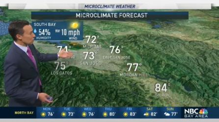 <p>Low clouds with some areas of drizzle will return for Monday morning. A steady onshore wind will ensure temperatures continue to stay fairly mild with low 60s to near 70 around the coast and inner bay with mid 70s inland. Meteorologist Rob Mayeda has your Microclimate Forecast.</p>