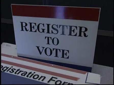 Voter Registration Deadline: Monday