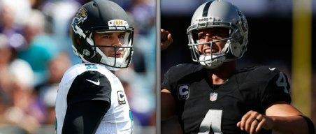 Bortles, Carr Still Carry Quarterback Bond Since NFL Draft