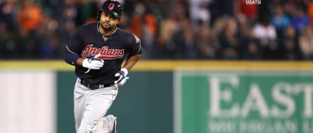 Former A's OF Crisp Homers as Indians Clinch AL Central Title