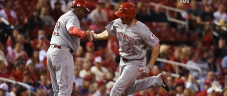 Wild Card Watch: Duvall Slugs Reds to Win Over Cardinals
