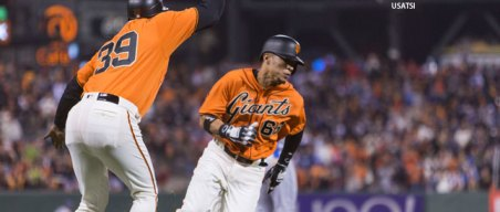 Instant Replay: Big Sixth Inning Vaults Giants Over Dodgers