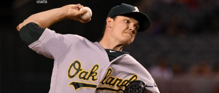 Gray Pleased With Velocity in Short, Successful Return for A's