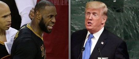 LeBron Blasts Trump Over Dis-inviting Warriors; Others Sound Off