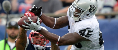 Report: Ex-Raiders FB Reece Works Out for AFC Contender