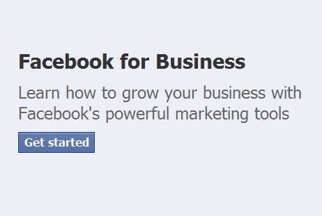 Facebook Promotes 'Facebook for Business'