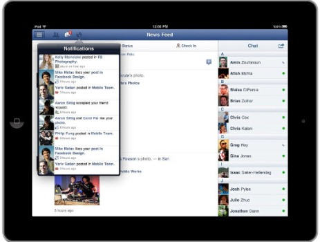 Facebook Finally Launches iPad App