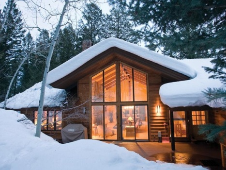 Sweet Home: $3.2M For A Ski Lover's Cabin