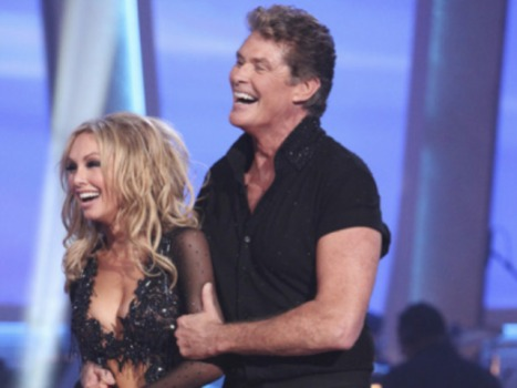 "Floored! Travesty on ""Dancing with The Stars"" as the Hoff Heads Home"