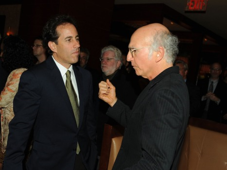 "Larry David and Jerry Seinfeld Get Heated Over ""Curb"""