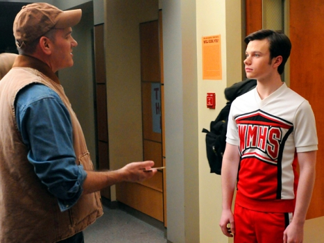 """Glee""'s Chris Colfer Says Screw the Bullies in Taking Best Supproting Actor"